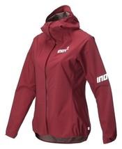 Inov8 at/C Stormshell Full Zip Women's Jacket Red Running Jacket - $207.24