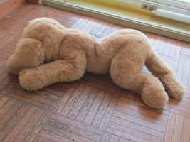 """Gund Muttsy Dog Large #1362 1985 Vintage Stuffed Plushed With Muttsy On Tag 22"""" - $59.89"""