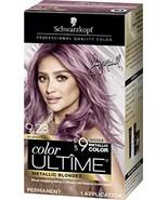 Schwarzkopf Color Ultime Metallic Permanent Hair Color Cream, 9.23 Brush... - $118.01
