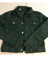Wrangler Vintage Kids Dark Green Jacket 16 Regular - $39.58