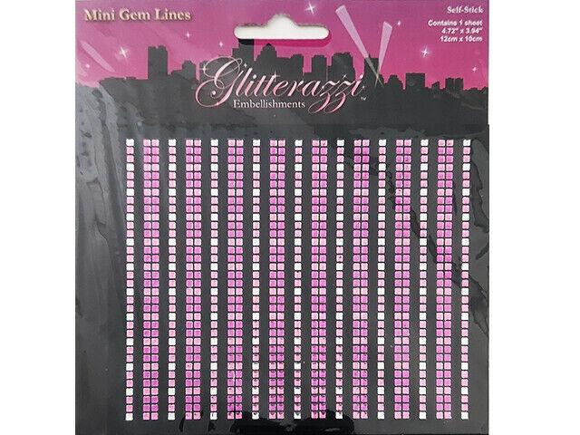 MultiCraft Imports Glitterazzi Rhinestone Stickers #MZ051C