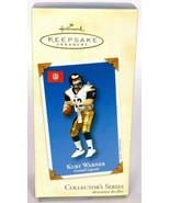 Hallmark Keepsake Christmas Ornament Kurt Warner Football Legends - $11.04