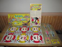 Vintage Walt Disney Babes in Toyland Board Game 1961 Missing Movers & One Leg - $15.38