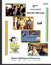 Clem Williams Films Inc. 1977 16mm Catalugue  - $3.95