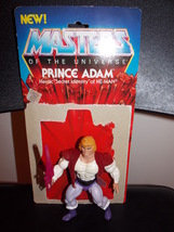 Vintage 1983 Masters Of The Universe Prince Adam Figure With Weapon & Ca... - $39.99