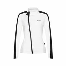 Women's White Titleist Long Sleeve Polyester Golf Windbreaker Sportswear... - $79.95