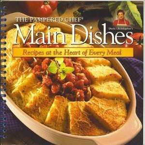 Pampered Chef Main Dishes Cookbook