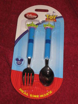Toy Store Meal Time Magic .Little Green Men Fork and Spoon. BPA Free. Brand New. - $5.99