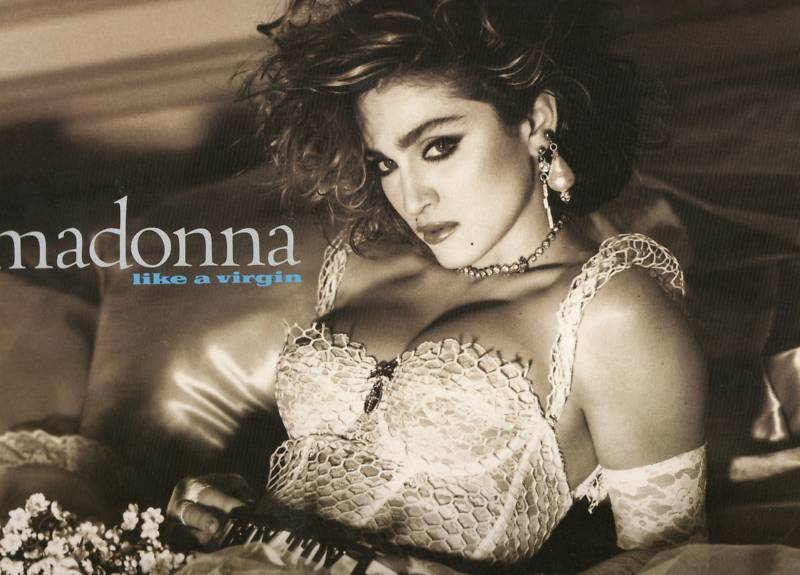 Madonna Like A Virgin Promo Poster Flats 12x12 Lot of 6