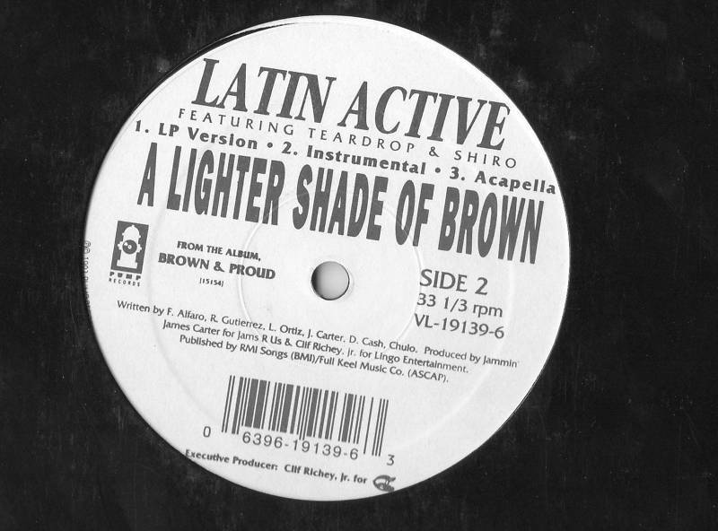 Latin Active A Lighter Shade of Brown Vinyl LP