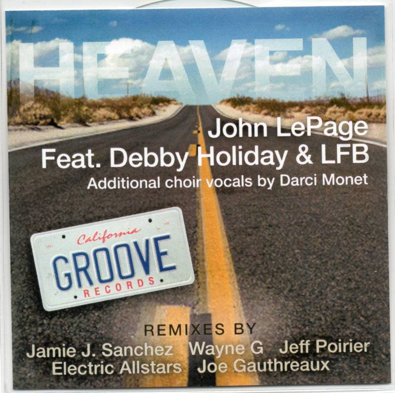 John Lepage FT. Debbie Holiday & LFB Heaven 7 TRK CD
