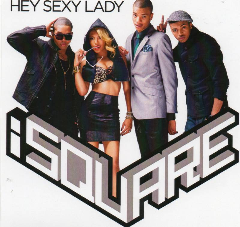 I Square Hey Sexy Lady 1 Track CD Promo Diddy New 2010