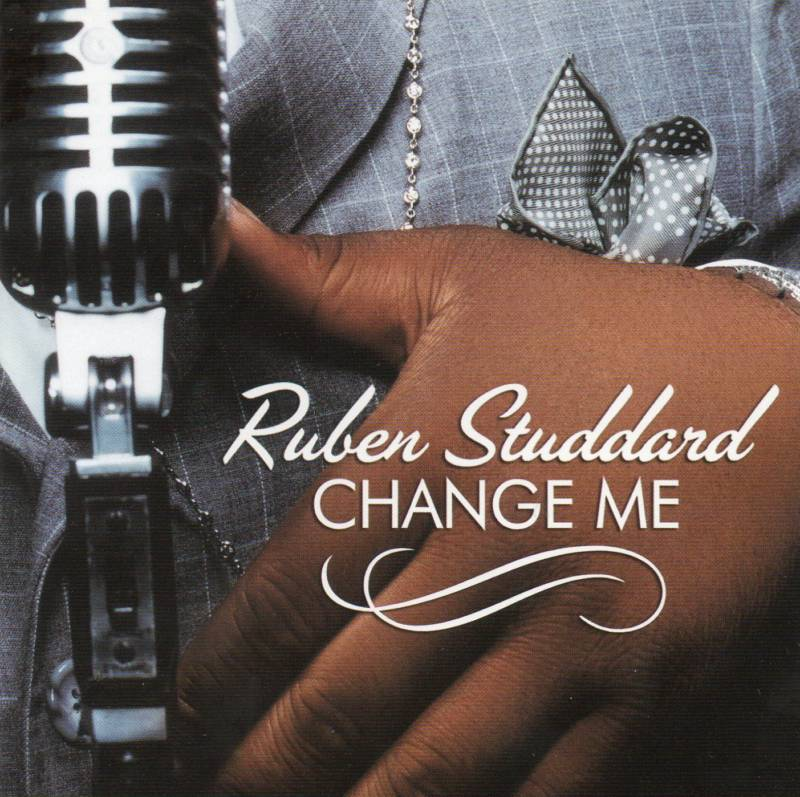 Ruben Studdard Change Me 2 Track CD Single Promo