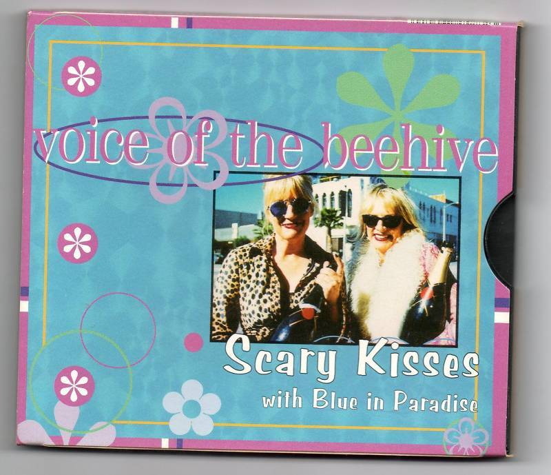 Voice of The Beehive Scary Kisses CD Single 2 Track