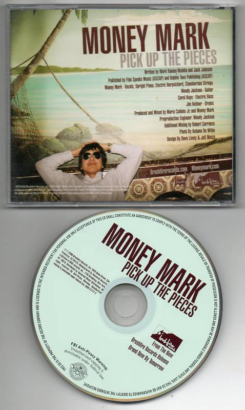 Money Mark Pick Up The Pieces CD Single