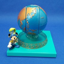 Early Disney Sea Aquasphere tape cutter holder Mickey Mouse Figure Diora... - $62.37
