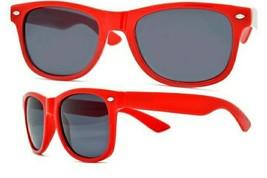 Lot of 2 Red Classic Way Glare Blocking Polarized Sunglasses Spring Hinges UV400 - $10.57