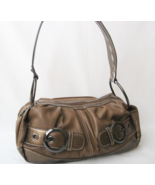 Designer Handbag Purse Shoulder Bag KATHY VAN ZEELAND Brown - $20.00