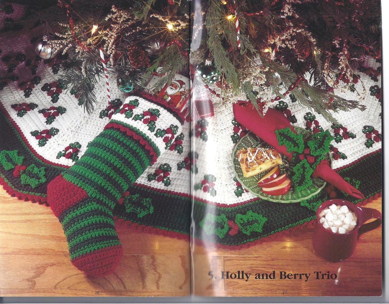 Christmas Keepsakes Crochet Patterns~Santa's Helpers~Afghans