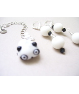 Pandamonium Zipper Chain and Earrings - $10.00
