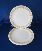 Corelle, Dinner Plates, Butterfly Gold, circa 1970's - $16.00