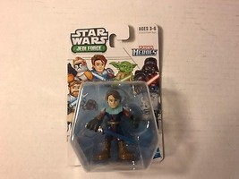 STAR WARS JEDI FORCE PLAYSKOOL HEROES ANAKIN SKYWALKER ACTION FIGURE NIP... - $8.79