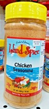 Island Spice Chicken Seasoning 16 0z/454g (No MSG) - $14.36