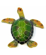 Globe Imports Oversized Green Sea Turtle Statue, Made of Resin Indoor Ou... - $73.80