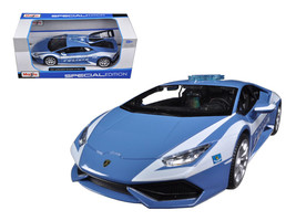 Lamborghini Huracan LP610-4 Police 1/24 Diecast Model Car by Maisto - $50.99