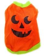 PUMPKIN JACK O' LANTERN Hallloween Thanksgiving Harvest Costume Pet Tee ... - $2.99
