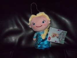 "DISNEY STORE FROZEN ELSA PLUSH DOLL COIN PURSE WITH CHAINS 7"" LAST ONE - $24.80"