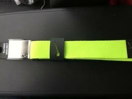 Nike Golf Single Web Belt Ajustable to size 42 - VOLT NEON LIME - $14.80