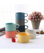 LOULONG® Brief Colour Macaron Coffee Mug Lover Milk Nespresso Cup Tazas - $21.63