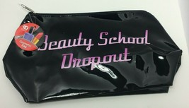 "Royal Deluxe Accessories ""Beauty School Dropout""Printed Black Cosmetic B... - $11.88"