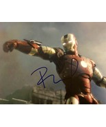 ROBERT DOWNEY JR. Hand SIGNED AUTOGRAPHED 11x14 IRON MAN PHOTO w/COA Ton... - £122.03 GBP