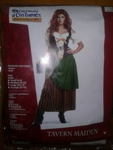 Tavern Maiden Halloween Costume by California Costumes Size Large New in... - $30.03