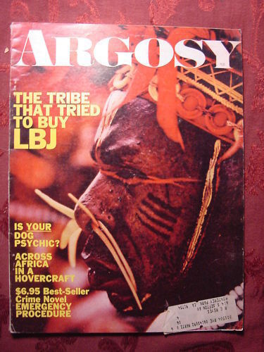 Primary image for ARGOSY June 1970 Jun 70 NEW GUINEA NATIVE KAYAK SURFERS