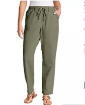 GLORIA VANDERBILT Women's Cotton Pants Pull On Drawstring NWT - $24.99