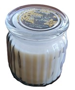 JAR CANDLE Sparkling Snowflake Holiday Memories Soy Scented Glass Christmas - $12.99