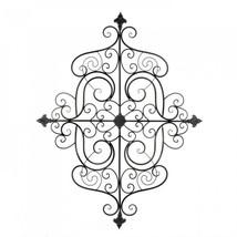 Fleur-de-lis Scrollwork Wall Plaque - $64.19