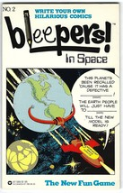Bleepers! Issue #2 In Space DC Comics / Warner 1980 Adam Strange - $9.95
