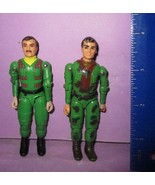 """Vintage GI Joe Size 3/75"""" O-Ring Military Camouflage Army Action Figure Lot - $16.00"""