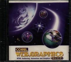 Corel Web.Graphics Suite PC Software NEW & SEALED - $28.02