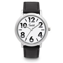 Speidel Men's Bold Face Watch Featuring Easy to Read Large Numerals, a S... - $56.78