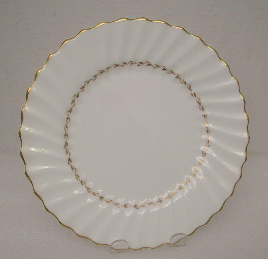 "Primary image for ADRIAN by Royal Doulton China 9"" LUNCHEON PLATE (s) H.4816 Gold Laurel"