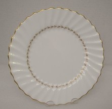 "ADRIAN by Royal Doulton China 9"" LUNCHEON PLATE (s) H.4816 Gold Laurel - $14.54"