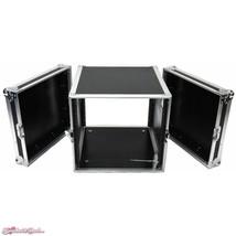 """DeeJay LED DJ Amplifier Rack Fly Drive Case with Wheels (21"""" Deep, 10 RU) - $549.00"""