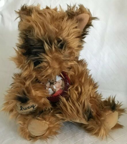 Primary image for Victorias Secret Plush Yorkie Stuffed Dog LUCY Limited Edition Photo Collar 2003
