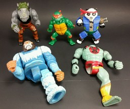 1980s Teenage Mutant Ninja Rocksteady Raphael Panda Khan Mumm-Ra thunder... - $19.95