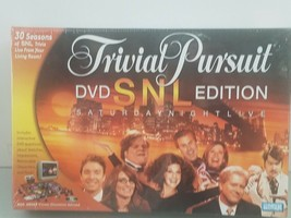Trivial Pursuit SNL Saturday Night Live DVD Edition Trivia Game Adult 2004 New - $19.39